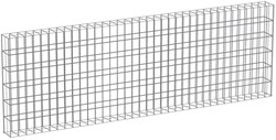 Muurkorf, afm. 180 x 60 x 12 cm, verzinkt staal, maas 10 x 3,8 cm