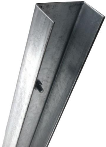 Beginpaal/muurpaal U-80, lengte 180 cm