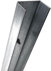 Beginpaal/muurpaal U-80, lengte 270 cm,