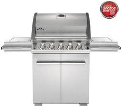 Napoleon gasbarbecue LE485RSIBNSS, LE3, aardgas, rvs