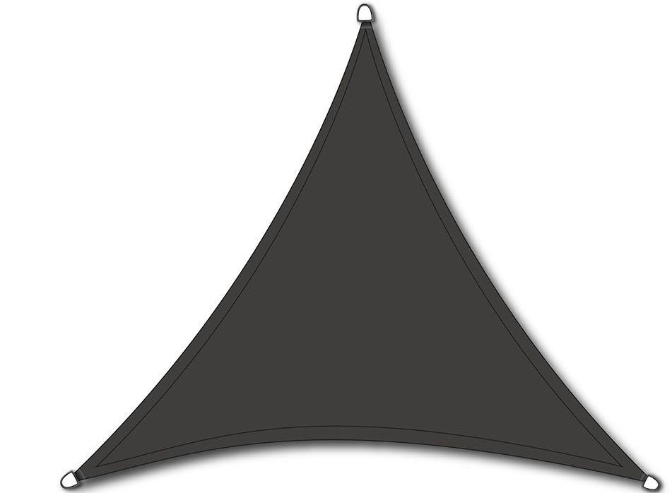 NC Outdoor schaduwdoek, driehoek, afm. 3,6 x 3,6 x 3,6 m, antraciet
