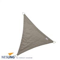 Nesling Coolfit schaduwdoek, driehoek, afmeting 5 x 5 x 5 m, antraciet