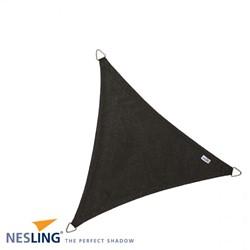 Nesling Coolfit schaduwdoek, driehoek, afmeting 3,6 x 3,6 x 3,6 m, zwart