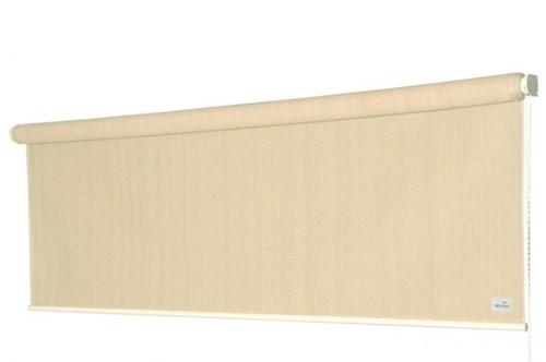 Nesling Coolfit rolgordijn, afm. 2,48 x 2,4 m - coolfit gebroken wit
