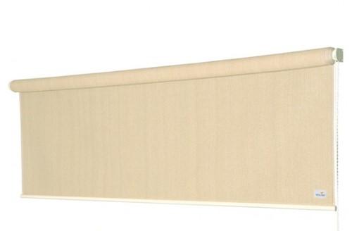 Nesling Coolfit rolgordijn, afm. 1,98 x 2,4 m - coolfit gebroken wit