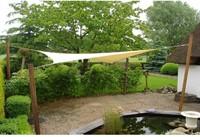 Nesling Dreamsail schaduwdoek, vierkant, 4 x 4 m, creme-2