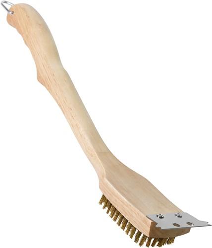 "18"" houten grillborstel"
