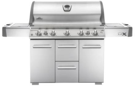 Napoleon gasbarbecue LEX730RSBIPSS, rvs