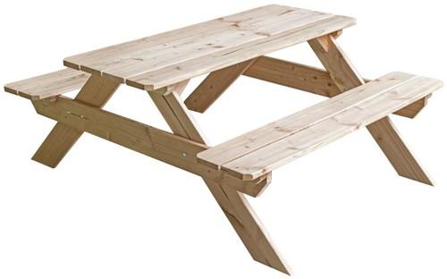 Kinderpicknicktafel, 113 x 98 x 49 cm, douglas