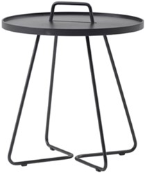Cane-Line On-the-move tafel, large, black