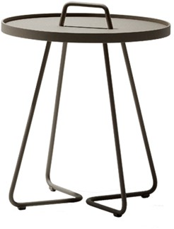 Cane-Line On-the-move tafel, large, taupe