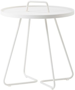 Cane-Line On-the-move tafel, large, white, showmodel