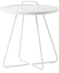 Cane-Line On-the-move tafel, small, white