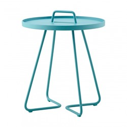 Cane-Line On-the-move tafel, small, aqua