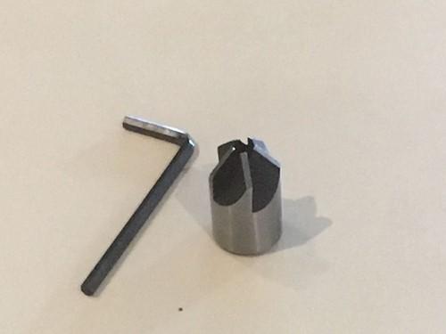 Opsteek verzinkboor (verzinkfrees), 4 x12 mm