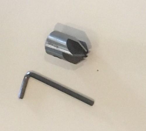 Opsteek verzinkboor (verzinkfrees), 5 x12 mm-2