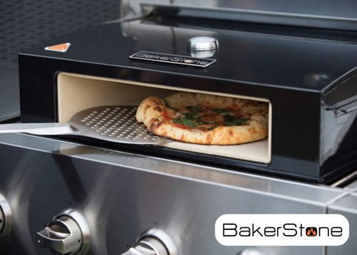 BBGrill Bakerstone pizza oven box large, afm. 59 x 42 x 16 cm, incl. pizzasteen en thermometer