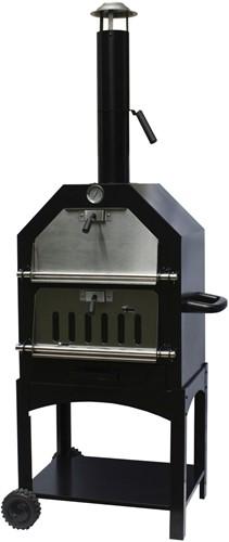 BBGrill Pizza oven / barbecue / tuinhaard Lorenzo, afm. 106 x 51 x 38 cm