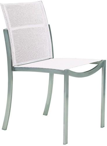 Royal Botania O-zon stoel zonder armleuningen - Brushed