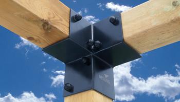 Nesling Pergola kit, hoekelement (2 stuks), breedte 8,5 cm