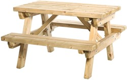 junior picknicktafel sven, bladmaat 89 x 52 cm, vuren, houtdikte 40 mm