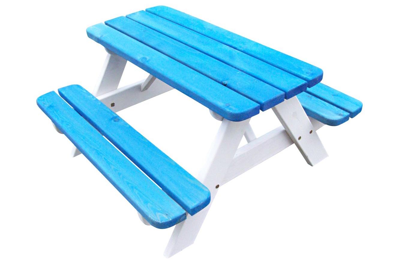 SenS-Line Kinderpicknicktafel, bladmaat 90 x 38 cm, blauw/wit