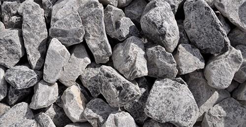 Stenen Piemonte, afm. 5-9 cm, grijs-blauw, voor 3 muurkorven (0,39 m3)