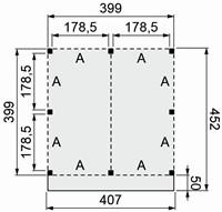 Douglasvision buitenverblijf Modulair, afm 400 x 400/452 cm, douglas-2