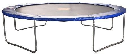 Powerjumper trampoline, medium standaard, diam. 300 cm, hoogte 75 cm.