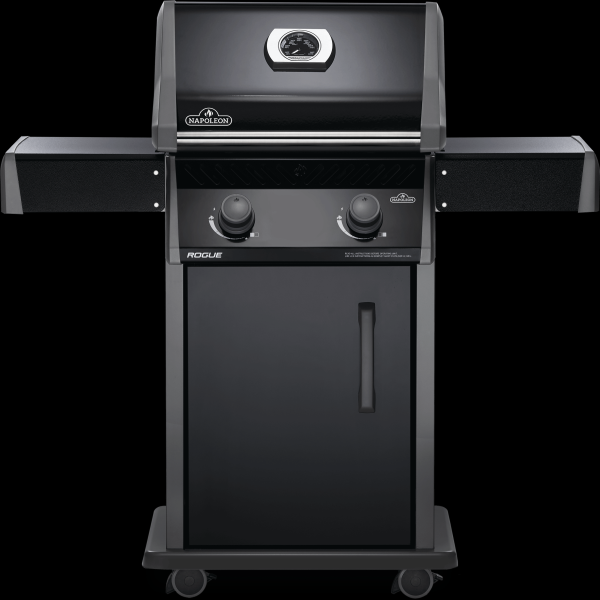 Napoleon barbecues Napoleon Rogue 365 gasbarbecue, zwart