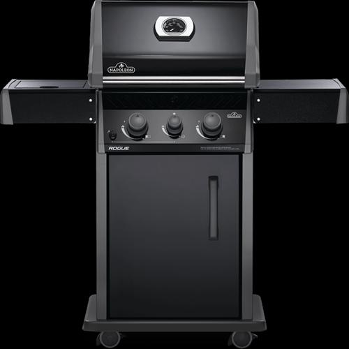 Napoleon Rogue 365 gasbarbecue met zijbrander, zwart