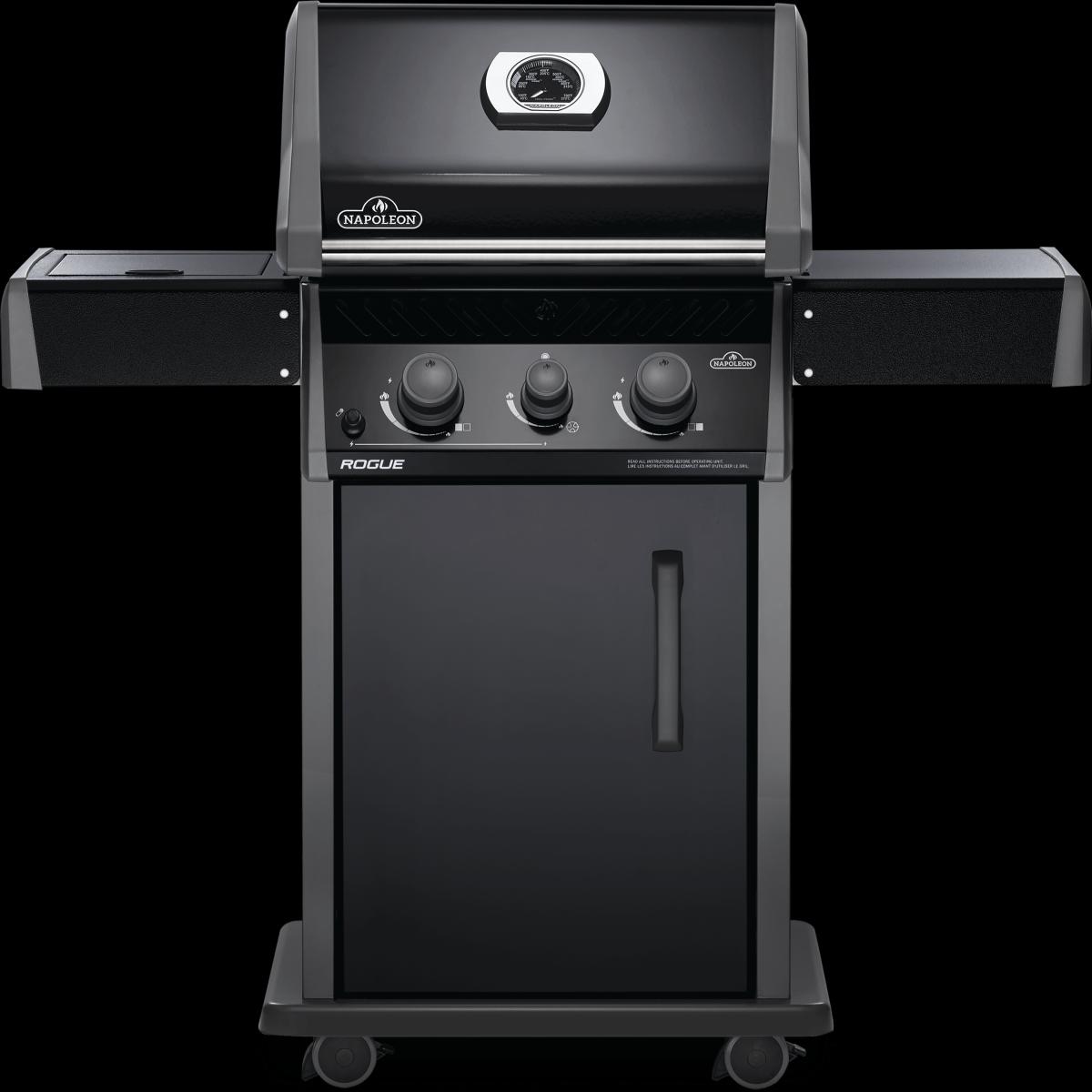 Napoleon barbecues Napoleon Rogue 365 gasbarbecue met zijbrander, zwart