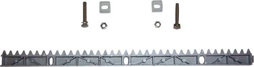 SuperJack rail voor schuifhekopener, set van 8 kunststof rails van 50 cm.