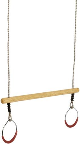 Ringen/trapeze voor aan schommel