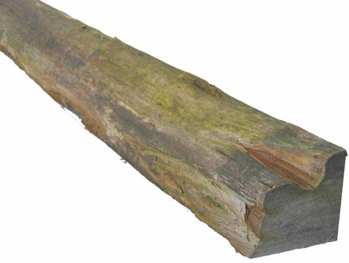 robinia gezaagde kloofpaal 10 x 10 - 200 cm