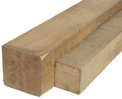 robinia paal, ruw, afm. 15,0 x 15,0 cm, lengte 175 cm