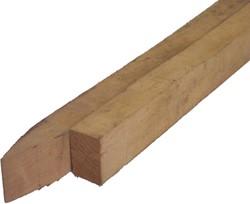 robinia palen, ruw, afm.  4,0 x  6,0 cm, lengte   75 cm