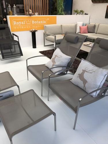 Royal Botania, QT relaxstoel met voetenbank-2