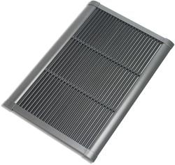 RiZZ schoonloopmat, afm.  90 x 60 cm, antracietkleurig aluminium frame