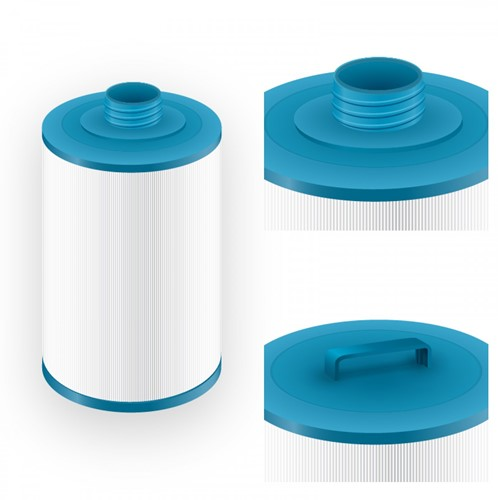 Darlly spa filter voor jacuzzi, type SC714,  afm. 45 ft2 (6CH-940)-3