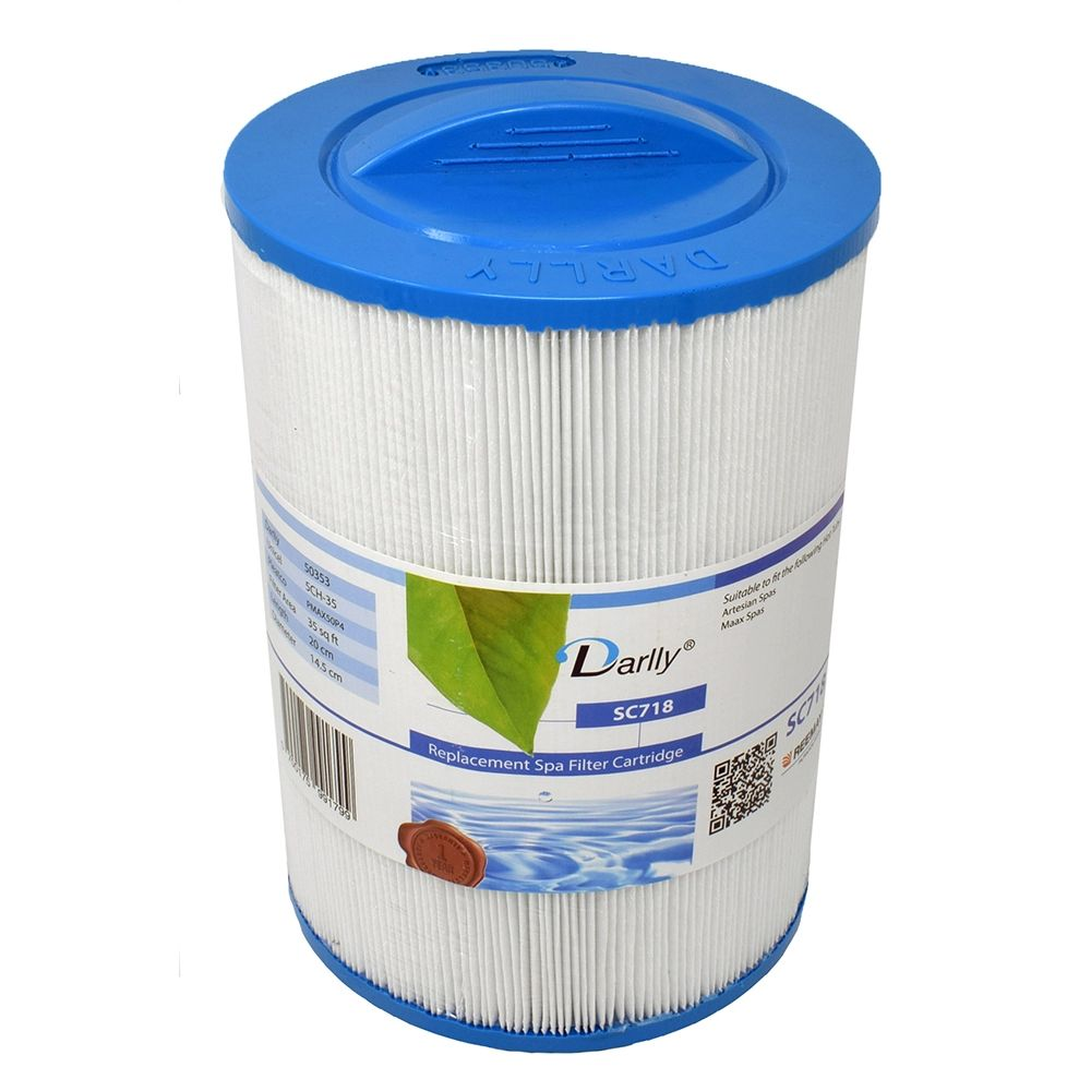 Darlly filters Darlly spa filter voor hot tub, type SC718, afm. 35 ft2 (5CH-35)