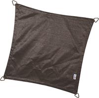 Nesling Coolfit schaduwdoek, vierkant, afmeting 3,6 x 3,6 m, antraciet