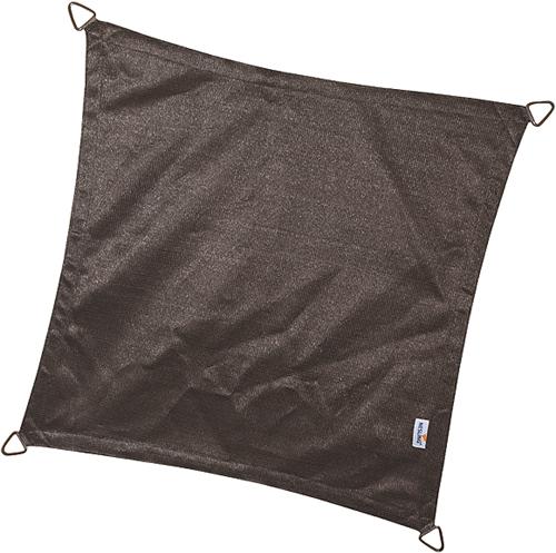 Nesling Coolfit schaduwdoek, vierkant, afmeting 5 x 5 m, antraciet