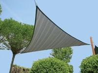 Nesling Dreamsail schaduwdoek, driehoek, afmeting 4 x 4 x 4 m, grijs-3