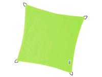 Nesling Coolfit schaduwdoek, vierkant, afmeting 3,6 x 3,6 m, lime groen