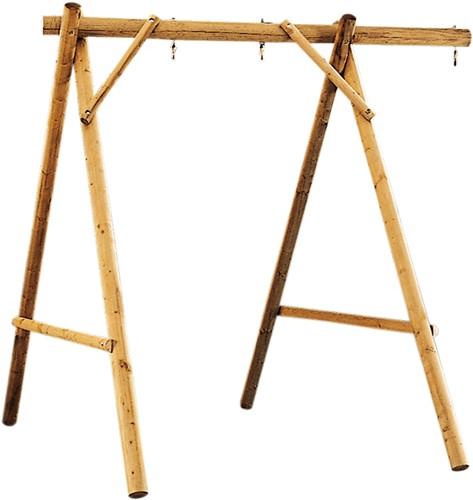 Schommel voor 2 accessoires, breedte 250 cm, geïmpregneerd hout