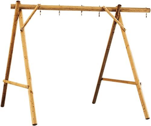 Schommel voor 3 accessoires, breedte 350 cm,  geïmpregneerd hout