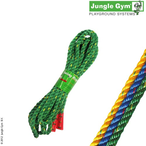 Jungle Gym schommeltouw, groen, 5 meter
