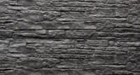 betonplaat voor schutting, afm. 184x36 cm, dubbelzijdig nostalgie motief, antraciet