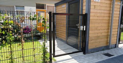Hillfence metalen dubbele poort, Premium-line-3